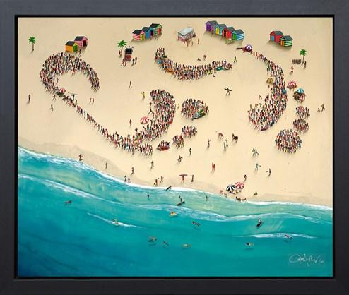 Better Together by Craig Alan - Framed Embellished Box Canvas